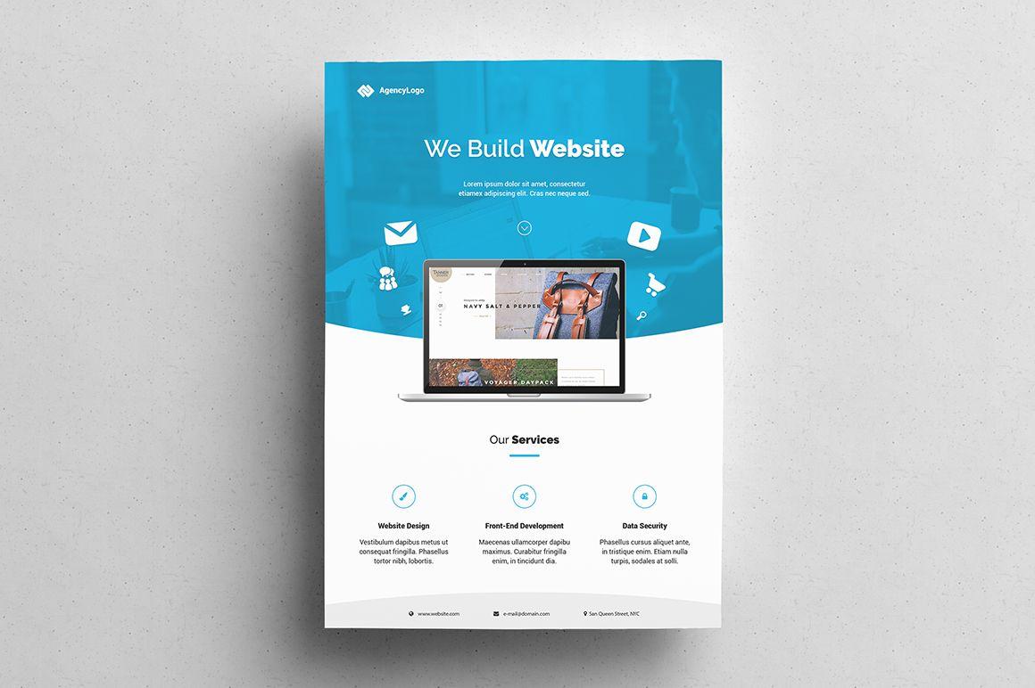 Web Designer Flyer In 2020 Web Design Flyer Template Web Design Agency