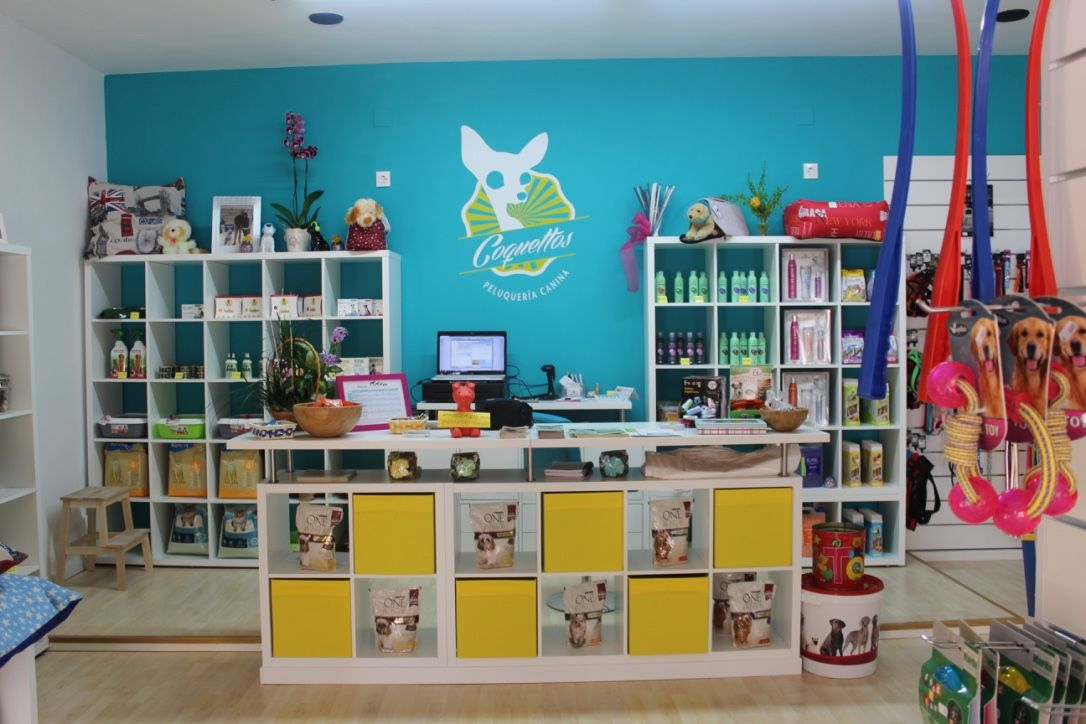 Tienda de mascotas y peluquer a canina coquettos lo mejor for Outlet de decoracion online