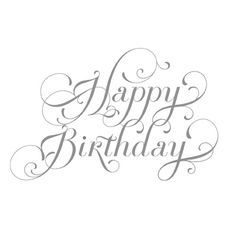 happy birthday font images Google Search sentiments Pinterest