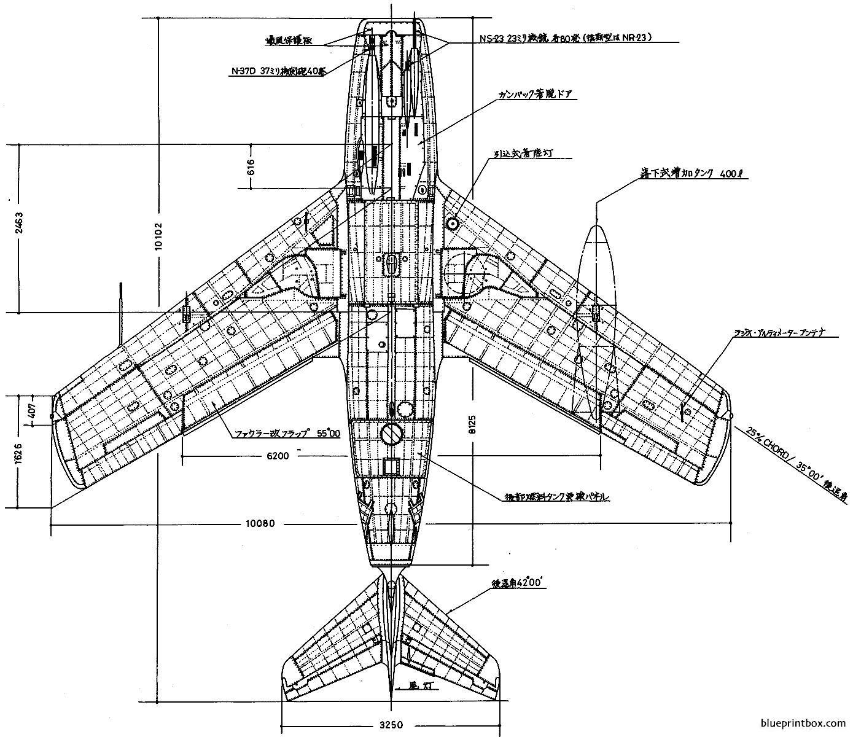 Mikoyan Gurevich Mig 15bys 3 - Blueprintbox Com