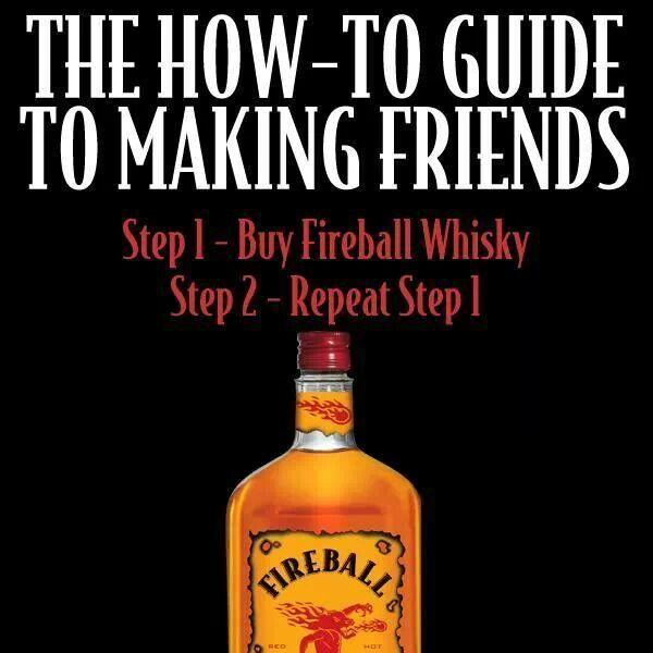 "@FireballWhisky #fireball #makingfriends www.LiquorList.com ""The Marketplace for Adults with Taste"" @LiquorListcom #LiquorList"