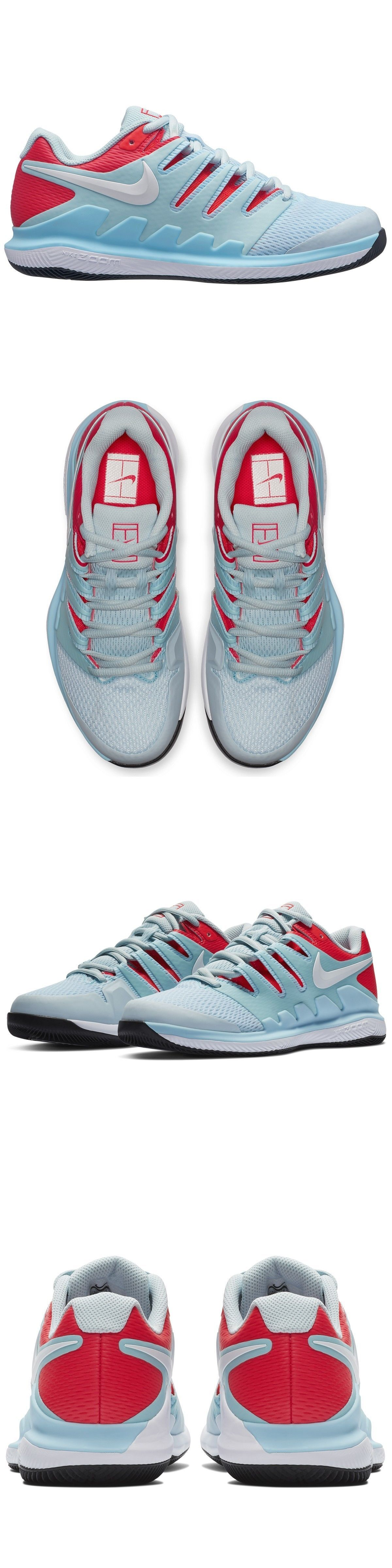 ee04706129 Clothing Shoes and Accessories 62229  Nike Air Zoom Vapor X Blue Red White  Women S Tennis Shoes (Roger Federer) -  BUY IT NOW ONLY   105 on  eBay   clothing ...