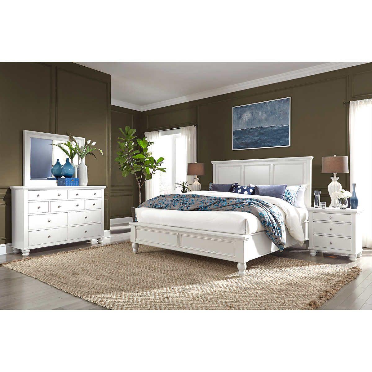Baldwin Park 5piece Queen Bedroom Set Bedroom Bliss in