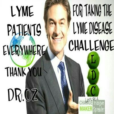 World Lyme Day And Lyme Patients Everywhere Thanks Dr Oz For