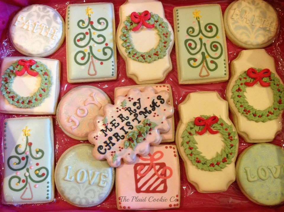 The Plaid Cookie Company Cookies Pinterest Cookie company and