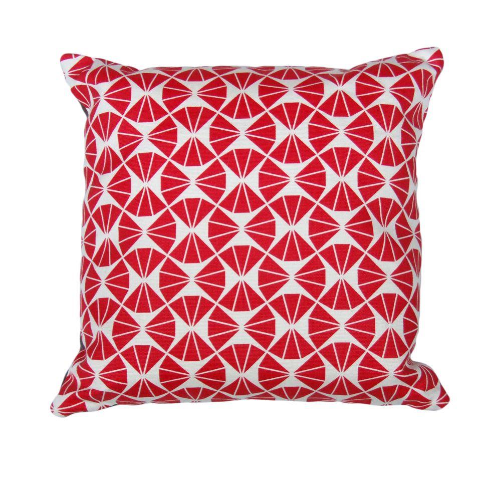 Trinity 16″ Hand Printed Cushion | Sarah Waterhouse