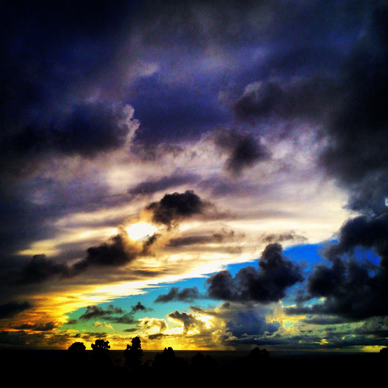Storm clouds in Oceanside