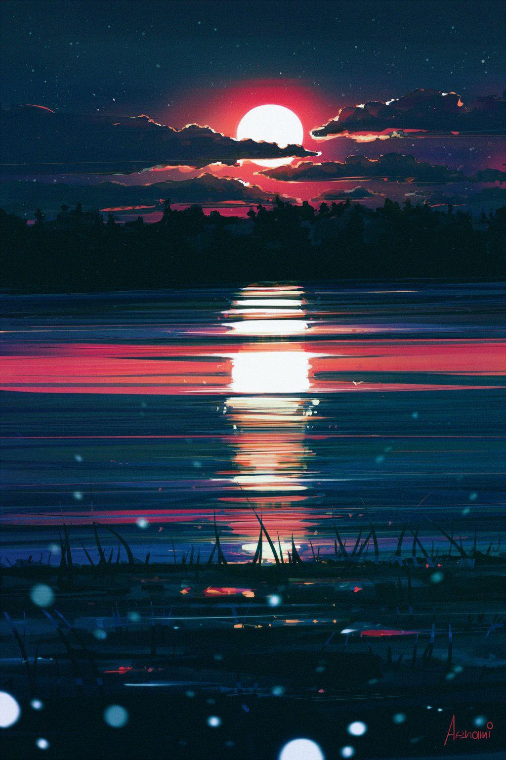 Midnight by Aenami on DeviantArt