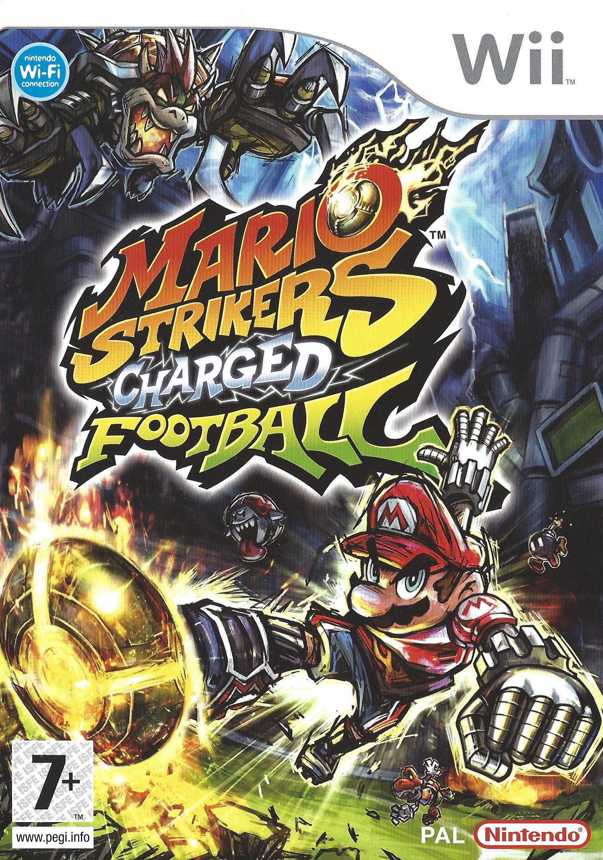Mario Strikers Charged Football Super Mario Strikers Mario Wii