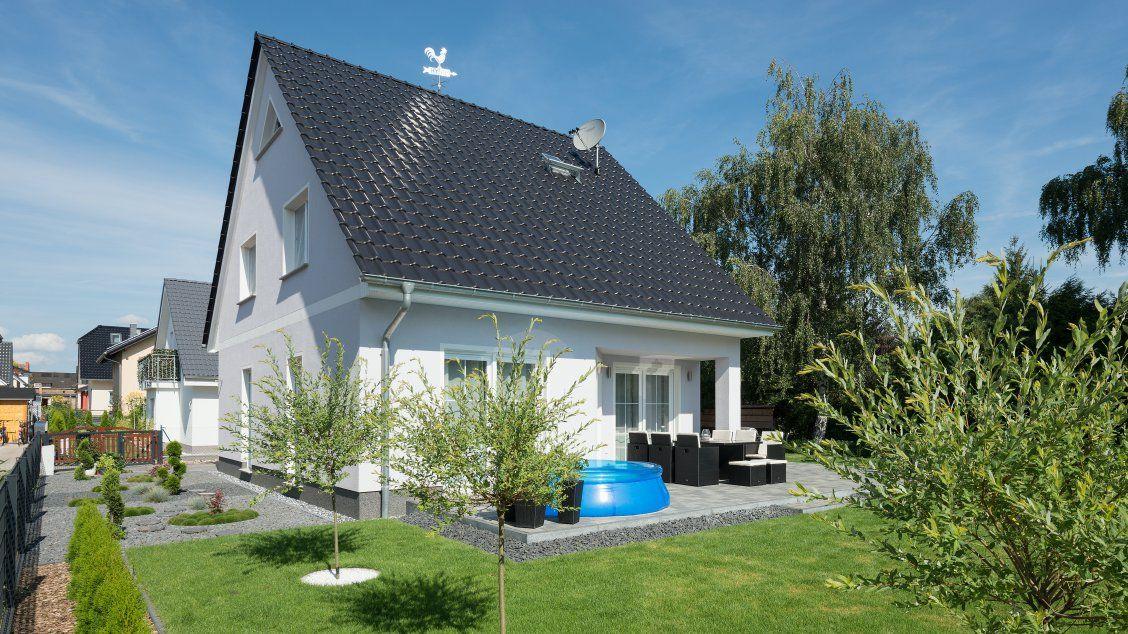 Einfamilienhäuser Haus Wismar (Putzfassade