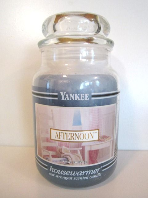 Yankee Candle Afternoon Black Band Collector Jar Came In This Blue Color And Also Came In Pink Yankee Candle Candles Yankee Candle Scents