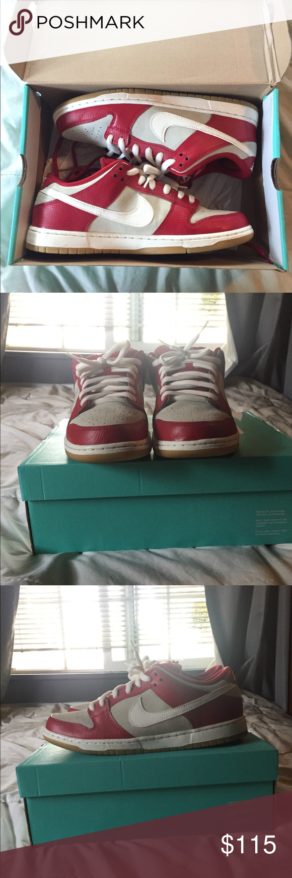 Nike Sb Dunk Low Valentines Day Size 11 Brand New Only Worn Once