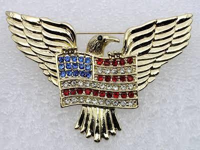 american eagle rhinestone pins - Google Search