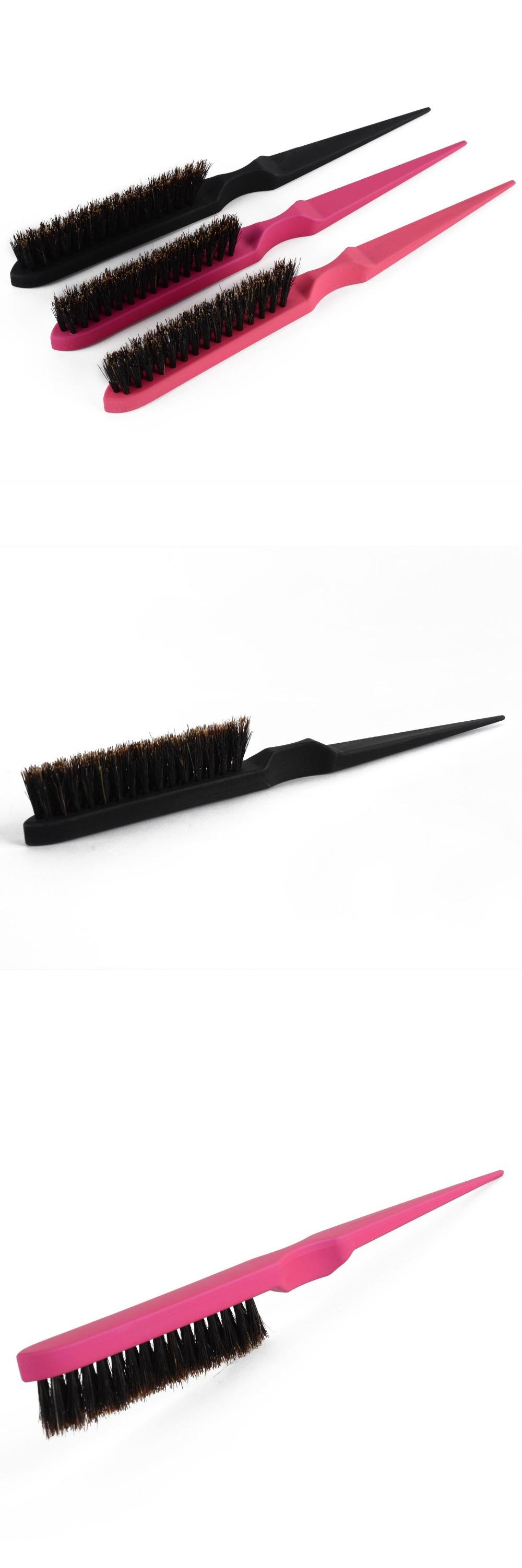 [Visit to Buy] 2016 Professional Hair Brushes Teasing Back Combing Hair Brush Slim Line Styling Tools Comb 3 Colors #Advertisement