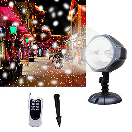 Projector Light Wide Coverage Version White Led Snowflake Auto