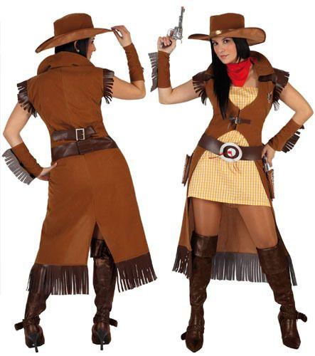 disfraces far west mujer