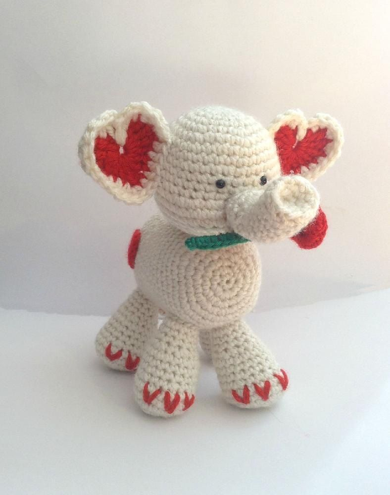 Crochet Stuffed Elephant Pattern Amazing Decoration
