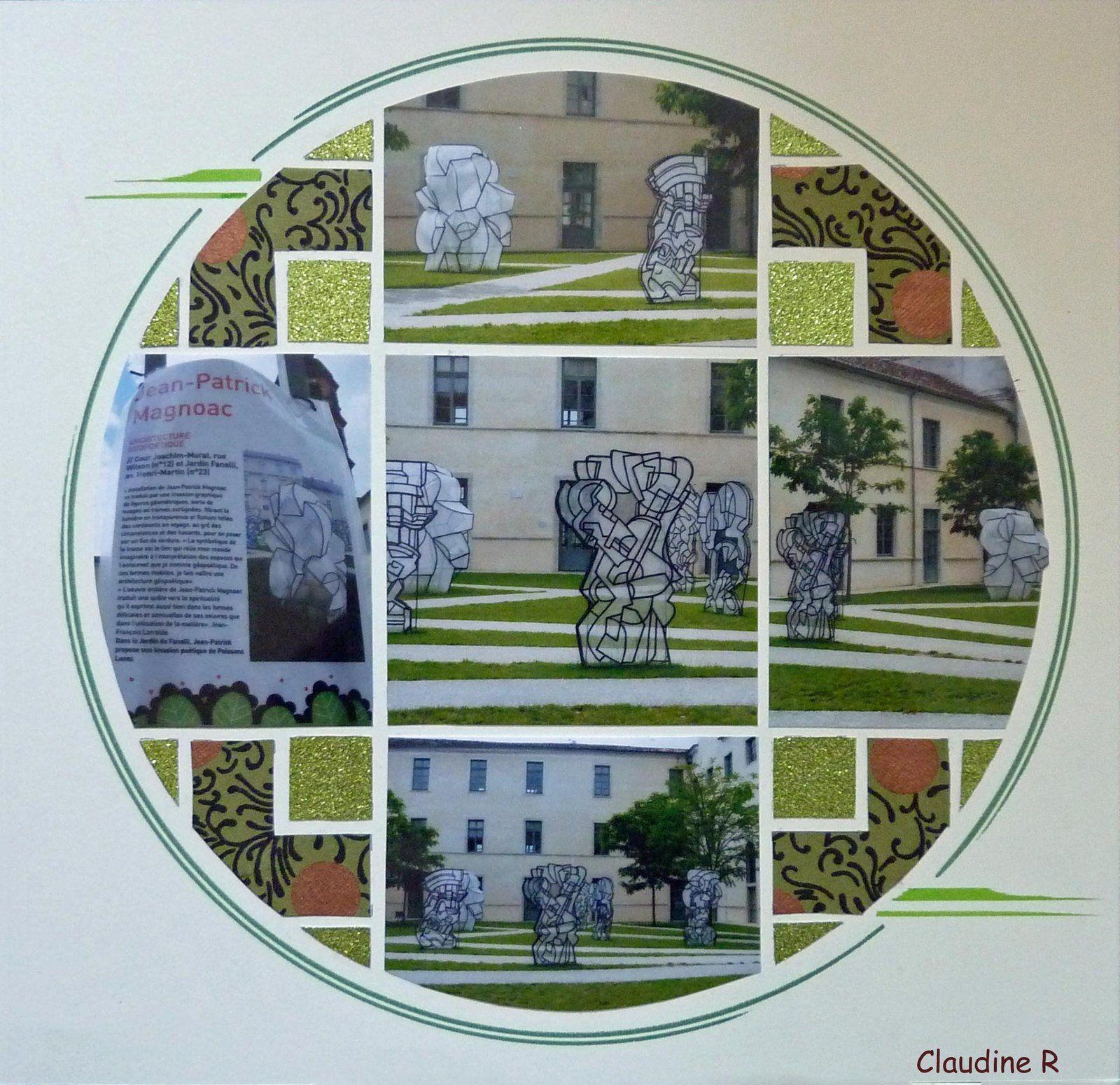 Une expo dans les jardins de cahors gab country patch de for Les jardins de lea