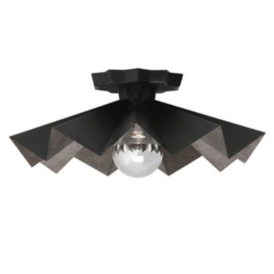 The Bat Flush Mount Ceiling Light By Robert Abbey Lighting Is An Interior Piece That