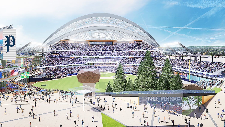 Ballpark Concepts Portland Diamond Project Ballparks Mlb Mlb Stadiums