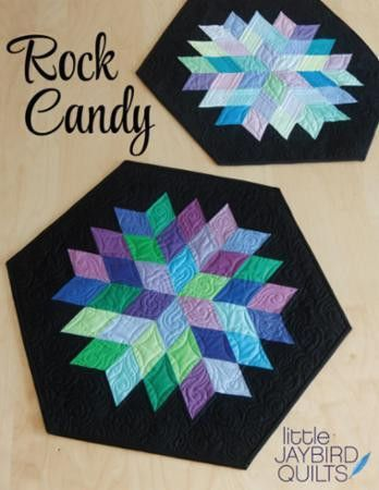 Rock Candy Table Topper Pattern by Jaybird Quilts