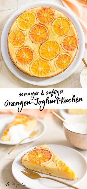 (Sunny)-Upside-Down Orangenkuchen oder einfach so saftiger Orangen-Joghurt Kuchen, der seine sonnigste Seite zeigt – feiertäglich…das schöne Leben