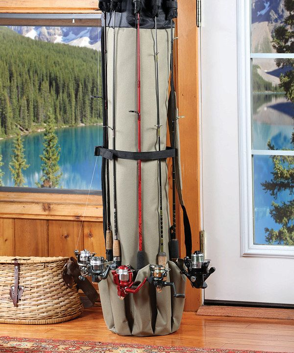 ceeec1879dcf Love this Deluxe Fishing Rod Organizer by Etna Products on #zulily ...