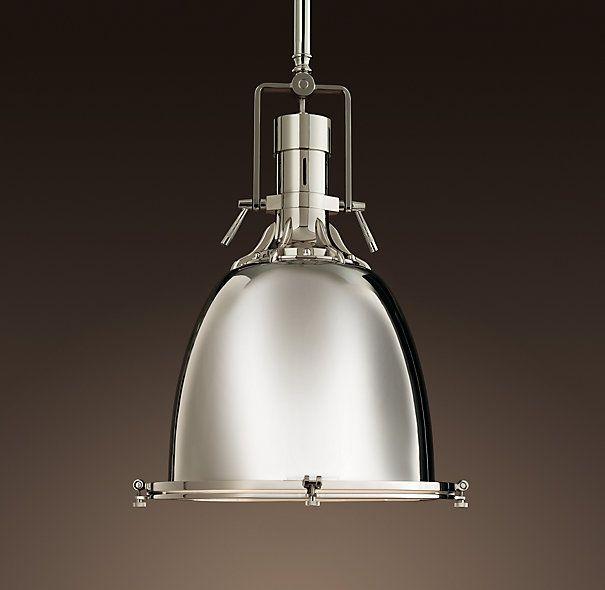 Benson pendant by restoration hardware great for bringing a modern benson pendant 16 aloadofball Images