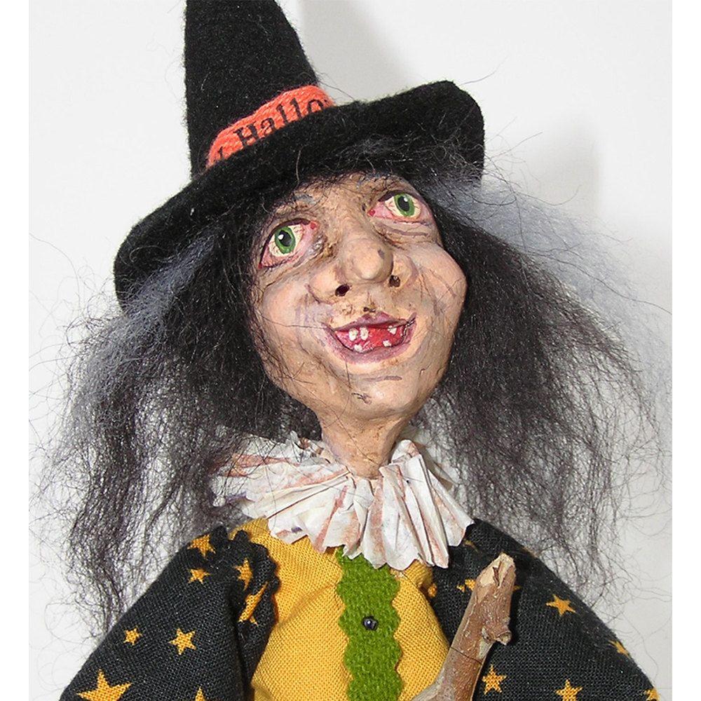 Papier Mache -Old world witch