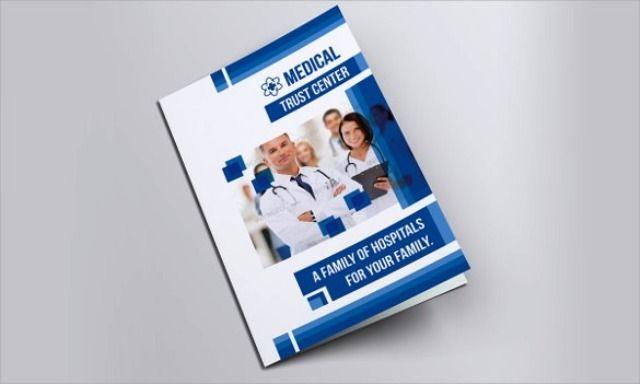 Brosur Medis Kesehatan Klinik dan Rumah Sakit Brochure  Pamphlet
