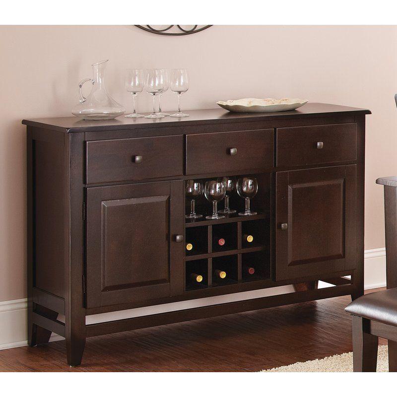 Wynwood Sideboard Steve Silver Furniture Dining Room Bar Furniture