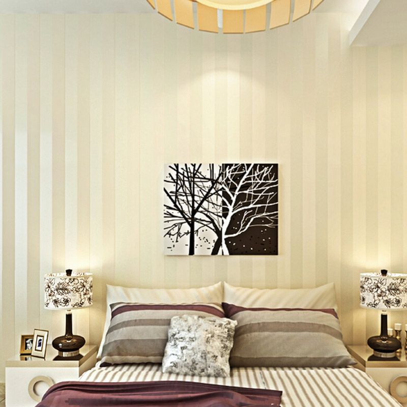 Minimalistischen Tapete Moderne Wandverkleidung Streifen Tapeten Glitter  Vliesu2026