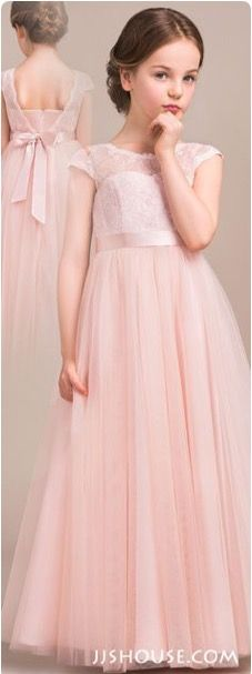 Vestidos para damas de honor infantiles