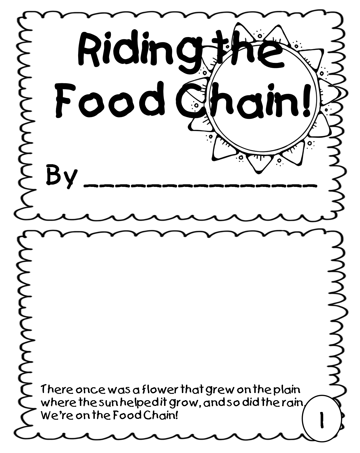 First Grade Wow Riding The Food Chain