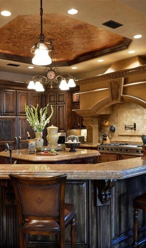 Find more ideas: Rustic Tuscany Kitchen Decor French ...
