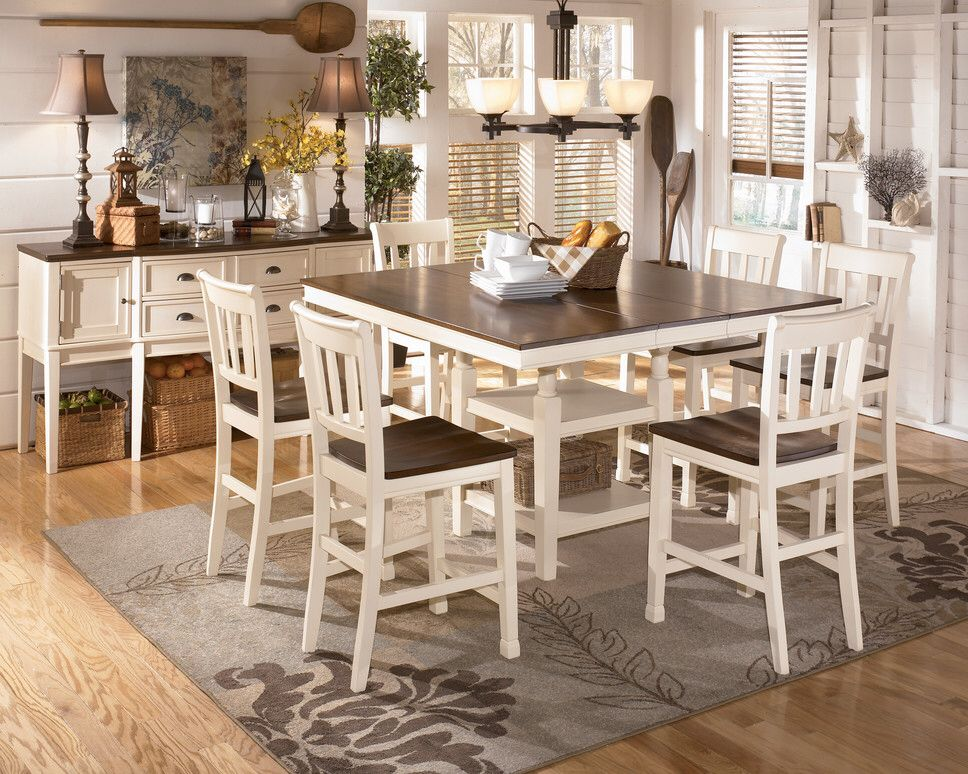 Counter Height Dining Room Tables