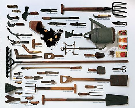 Garden tool time beautiful care storage of yard for Tools and equipment in planting