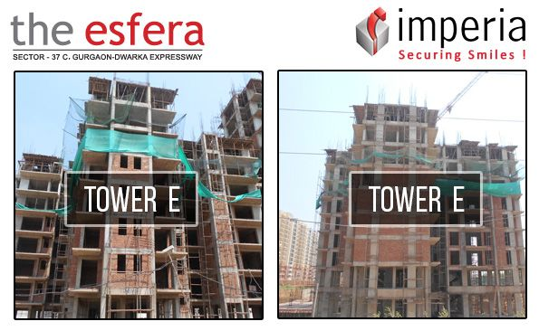 #construction #updates –#imperia #Esfera Project Tower E, Sector -37C, Gurgaon –Dwarka Expressway