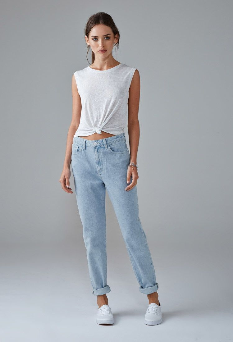 ce5c7c100c Light Wash Mom Jeans | Forever 21 - 2000154070 | all about fashion ...