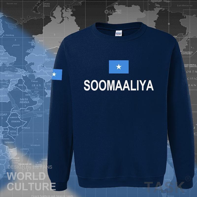 Somalia Somali t hoodies men sweatshirt polo sweat new hip hop streetwear flag nation team country tracksuit Soomaaliya SOM SO