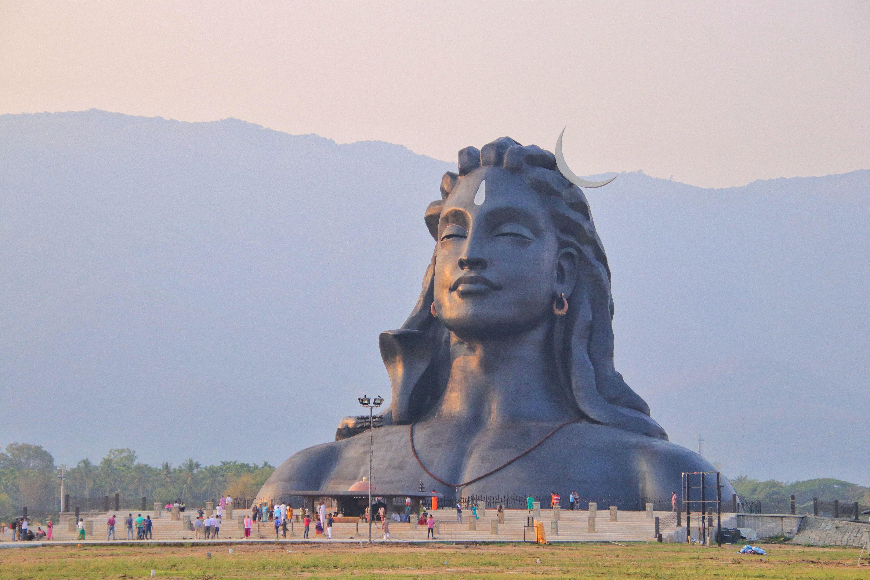 60 Shiva Adiyogi Wallpapers Hd Free Download For Mobile And Desktop City Photography Coimbatore Isha Yoga