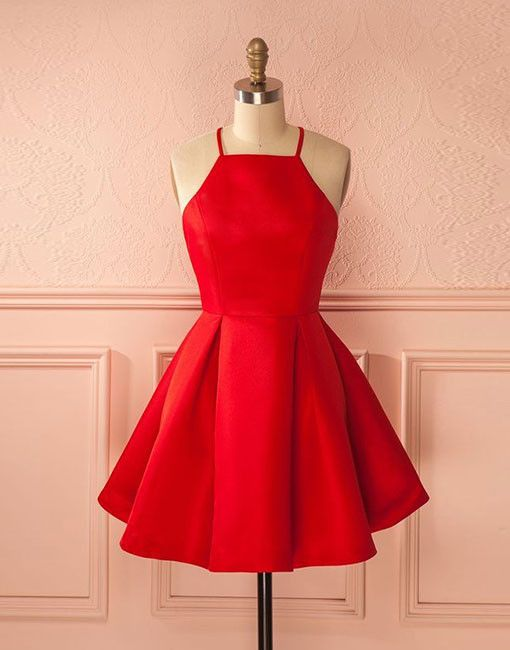 Red short prom dress 7ee56b596