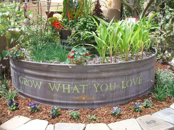 17 Best Ideas About Trough Planters On Pinterest Garden Privacy Raised Garden Vegetable Garden Raised Beds Container Gardening