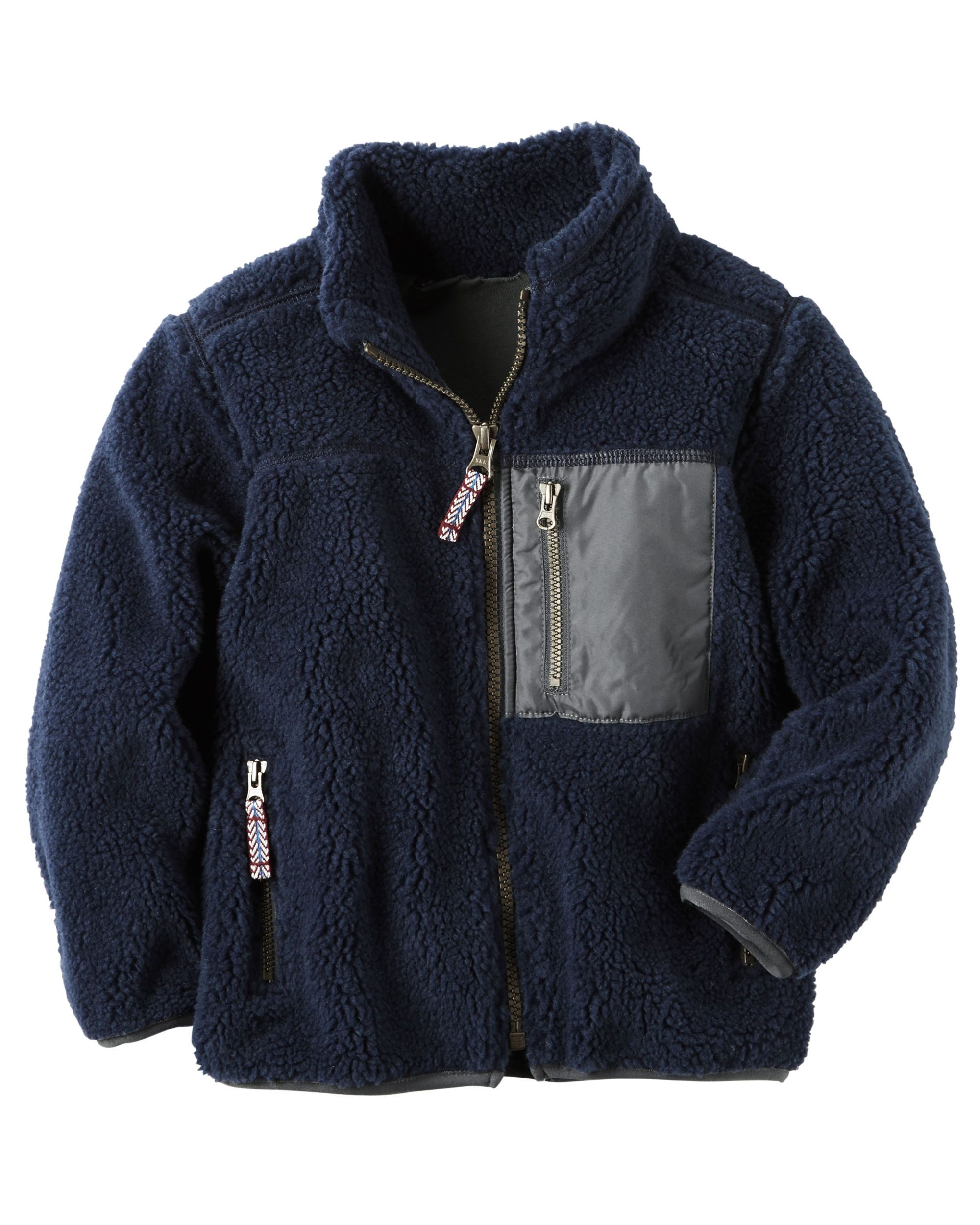 Quarter-Zip B'gosh Fleece Cozies | Babies, Baby boy and Boys
