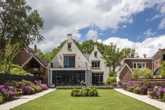 Modern woonhuis met luxe tuinontwerp house designs dream homes
