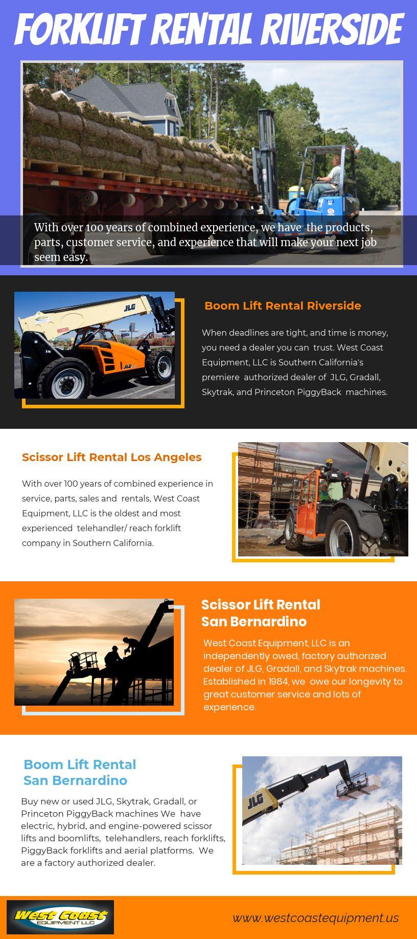 Forklift Rental Riverside Ca Forklift Boom Lift Rental