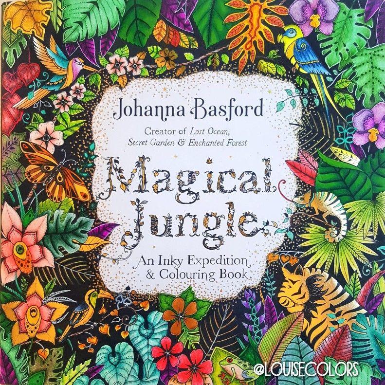 Johanna Basford Magical Jungle Cover Louisecolors