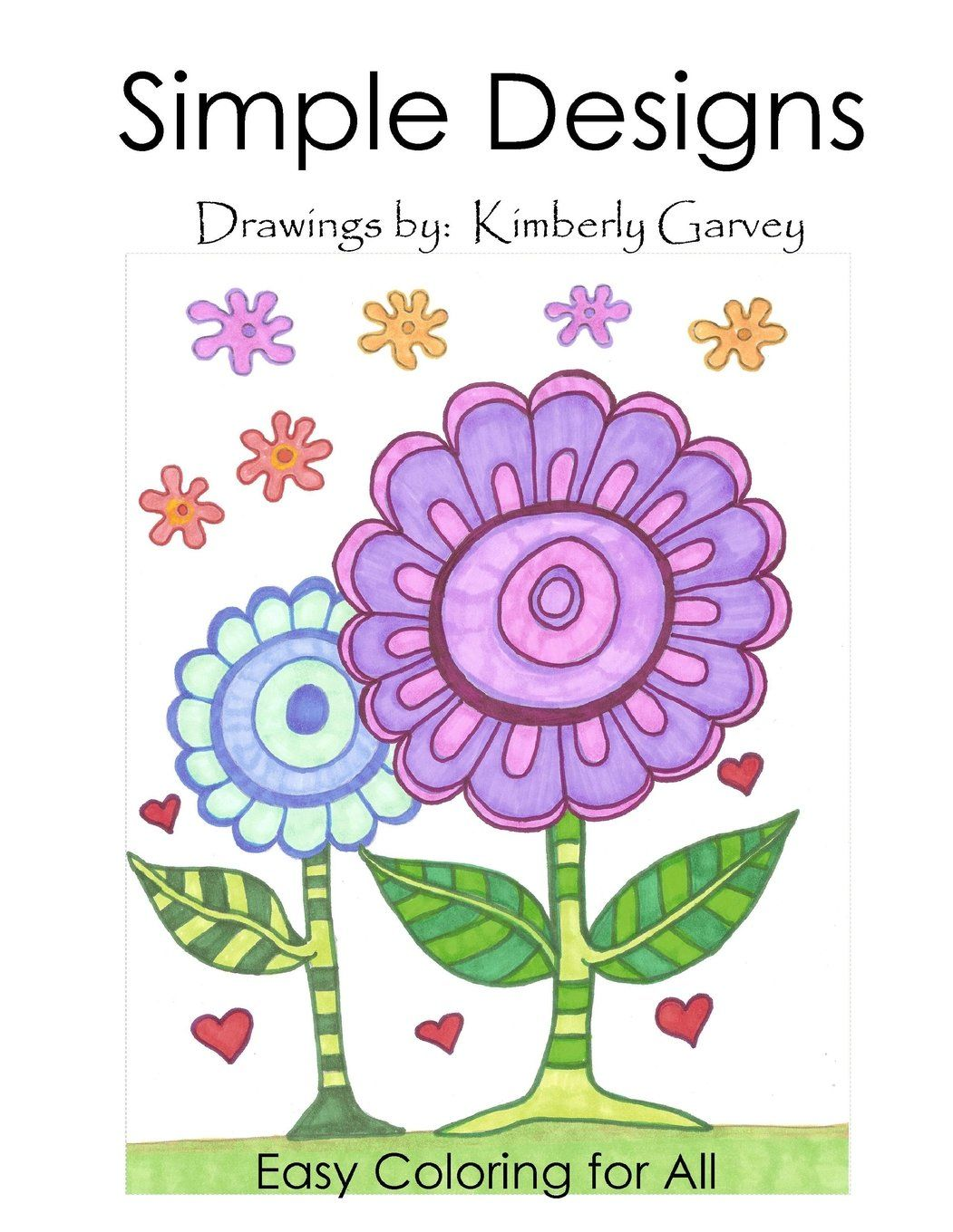 Large Print Coloring Books For Seniors Coloring Books For Adults