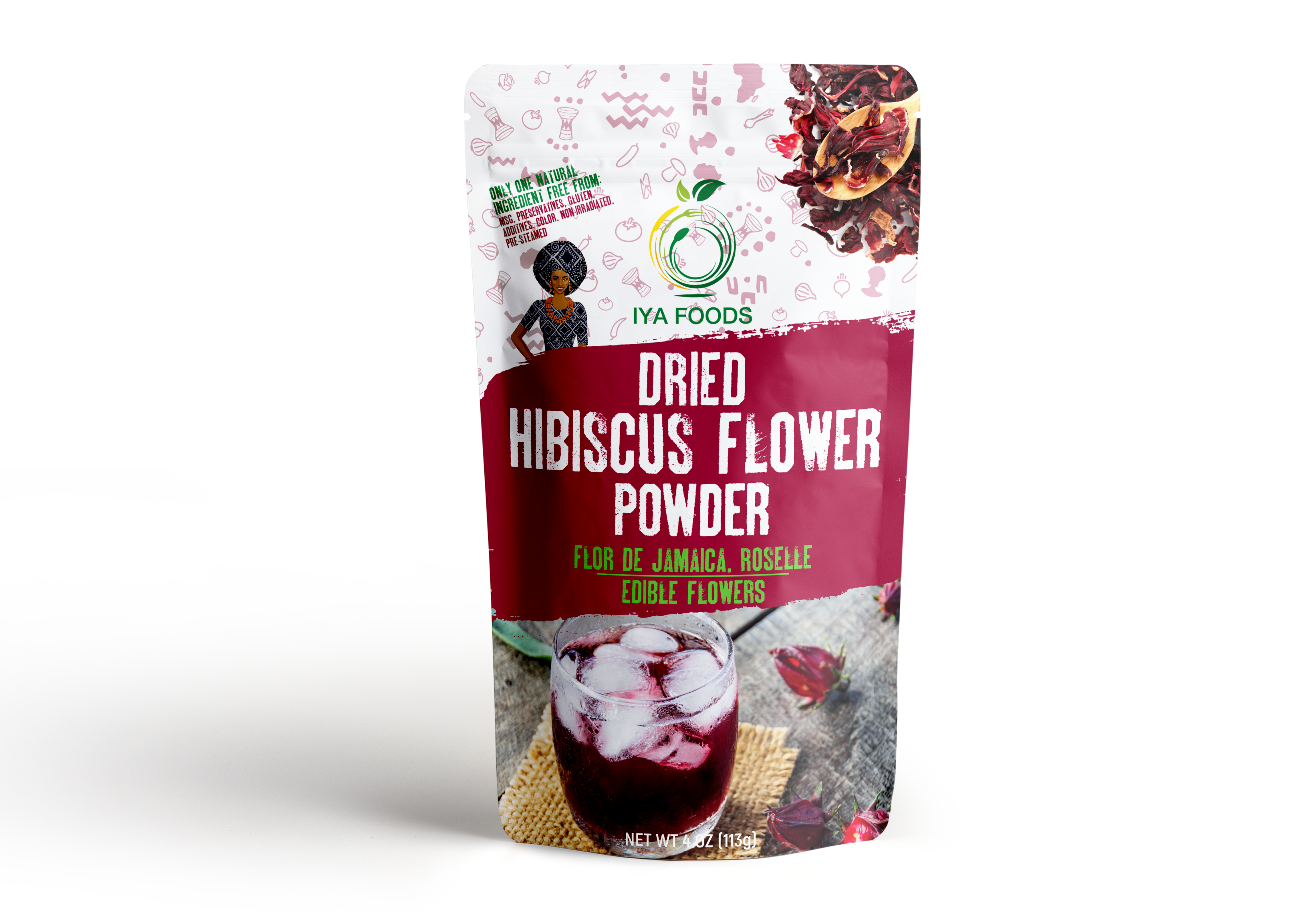Dried Hibiscus Flower Powder 4 Oz Walmart Com In 2020 Dried Hibiscus Flowers Hibiscus Flowers Hibiscus