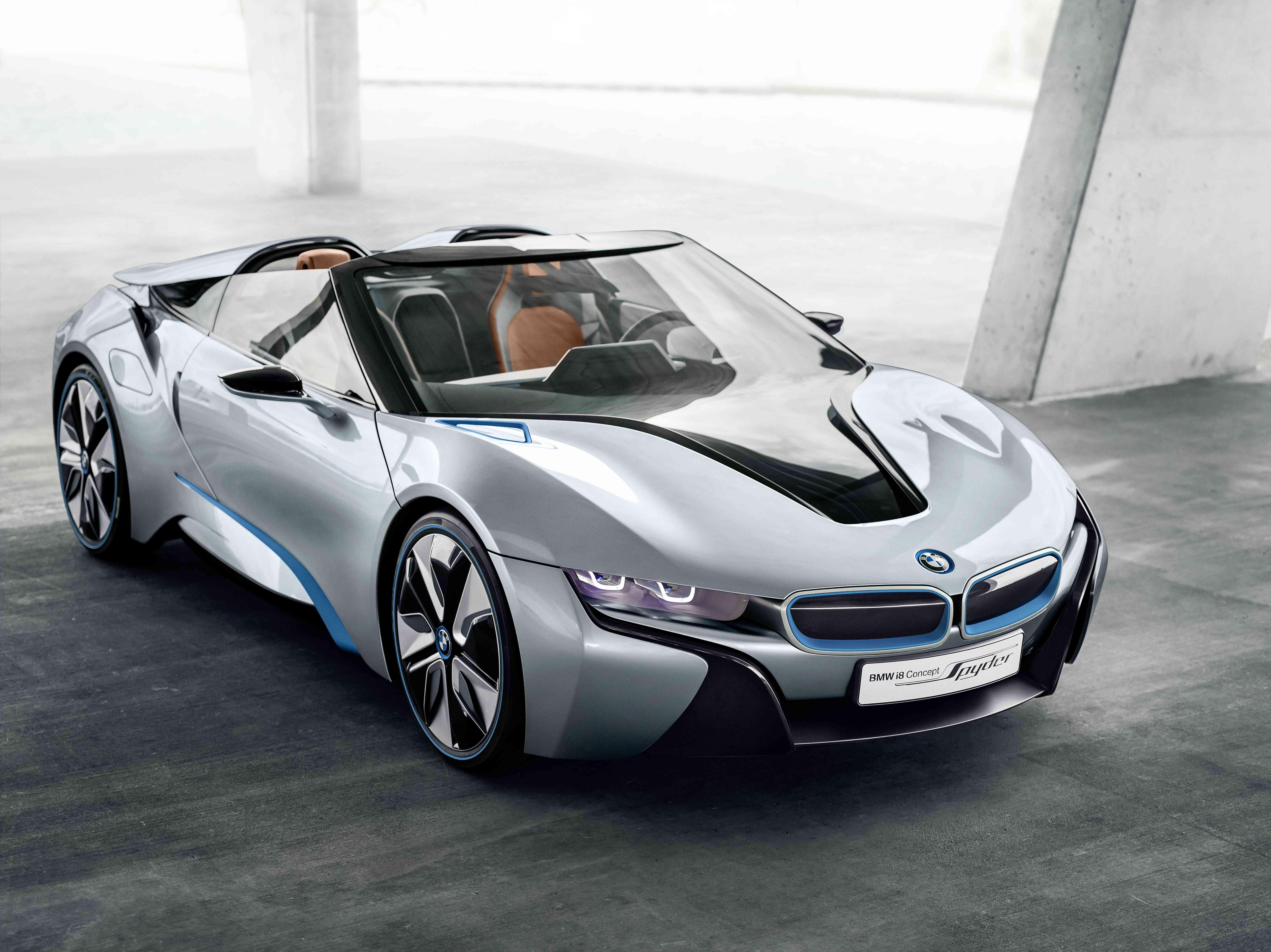 La BMW I8 Spyder